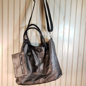 Oversized Tote Handbag Purse Removable Handles